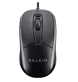 Belkin 3-Button Wired USB Optical Mouse